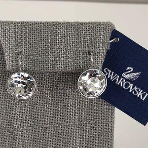 Swarovski pierced Crystal Earrings